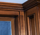 wooden antiqued molding
